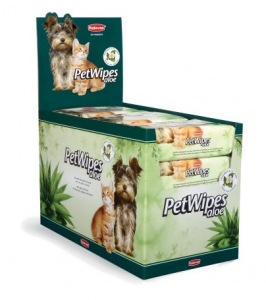 Pet Wipes Aloe (espositore)