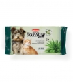 Pet wipes aloe