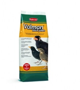 Valman black pellets