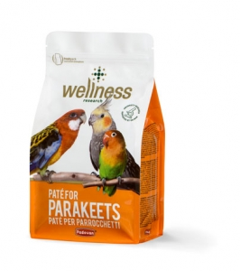 Wellness paté for parakeets