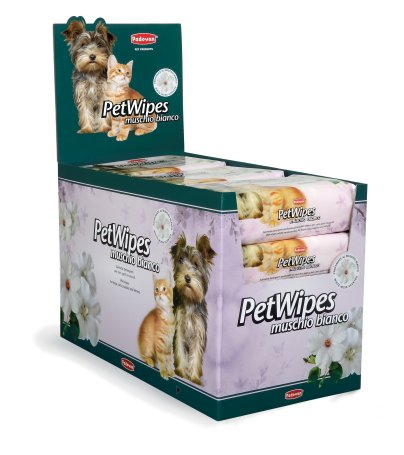 Pet Wipes White Musk (espositore)