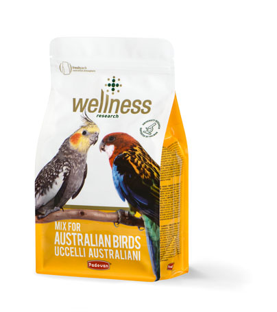 Wellness uccelli australiani